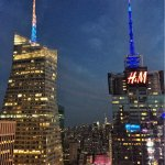 Hyatt Centric Times Square Bar 54 (Rooftop Bar) VIEW