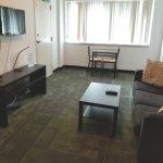 Great location, friendly staff, good room.