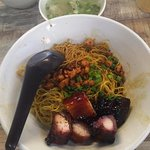 Charsiew noodles