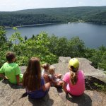 3-13 year old great nieces & nephews, first visit to Devil's Lake.
