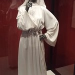 Princess Leia's costume from Star Wars IV: A New Hope