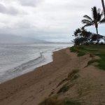 Beach access from the condo.