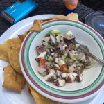 Ceviche at Seaside Grill