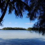 View of Muri Lagoon - waters edge at property