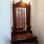 The beautiful dressing table handmade by the father of the hotel's owner.