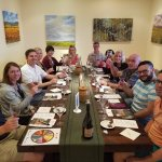 Rutherford Vineyard Wine Tasting (Group in our party)