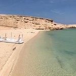 Orange island blue waves trip  Brilliant day love it here