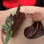 Gateau chocolat mentholé