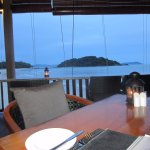 Beachfront Restaurant view