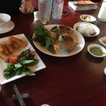 Loved this place! The appetizers were amazing! Spring rolls and fried tofu with perfect dipping