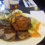 Roast Beef Sunday Lunch at Green Dragon 2017