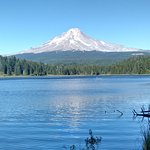 View of Mt. Hood frin the lake