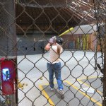 The batting cages