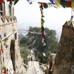 Swayambhunath-Tempelkomplex Foto