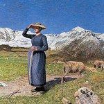 Gemälde von Segantini