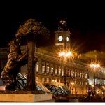 Simbolo de Madrid, el oso y el madroño