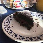 Torta al cioccolato farcita alla nutella! Sublime!!!