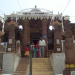 Before entring to main temple