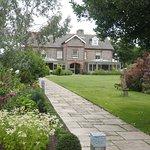 Hotel & gardens. Pic Michael Webb