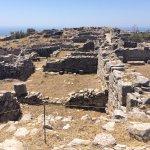 Ancient Thera Foto