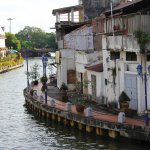 The long and relaxing Malacca River, MALAYSIA