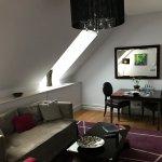 Top Floor Suite living area