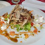 Pork-roast Salad, Rest. Amoa Resort; Faga, Samoa