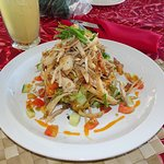 Chicken Salad, Rest. Amoa Resort; Faga, Samoa