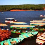 Venna lake boating images.