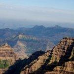 Mahableshwar mountain view image