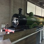 ...The real thing! The Flying Scotsman on display