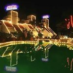 Mahableshwar neetas shanti villa pool area during night vision