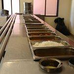 Neetas Shanti Villas Dinning food counter area.