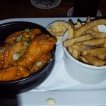 Chicken wings were good
