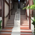Steps to room