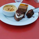 Desserts au choix