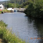 Lock on the Crinan Canal