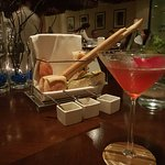 Bread for the table + mocktail