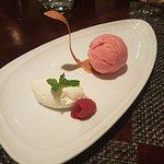 Strawberry gelato