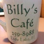 bottomless coffee mug