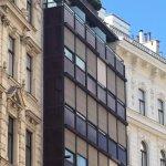 8. Etage mit Balkonen