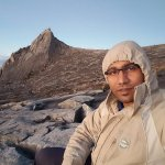 A memory which was taken at 4,095 metres (13,435 ft) above sea level. Low's Peak Mount Kinabalu