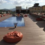 Adults only roof top pool