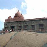 Side view of Vivekananda Rock Memorial