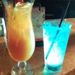 MaiTai and Electric blue at the Hard Rock Tampa