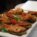 Bruschetta met tomatoes Or N'Duja