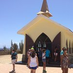First chapel on Aruba along coast!