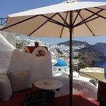 Balcony of the honeymoon suite
