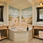 Master bath in Cape Codder Residence