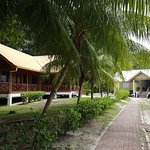 Lodges in Selingan Turtle Island